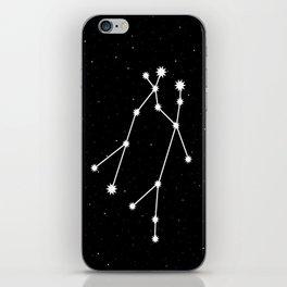 Gemini Astrology Star Sign Night Sky iPhone Skin