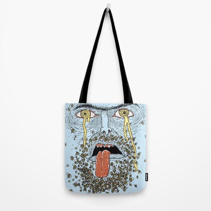 Wierd Bee-rd Tote Bag