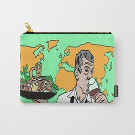 The colorful life of Anthony Bourdain Carry-All Pouch