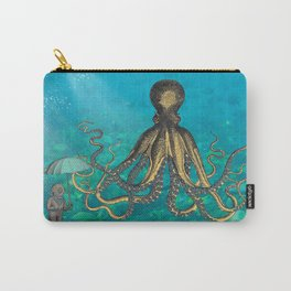 Octopus & The Diver Carry-All Pouch