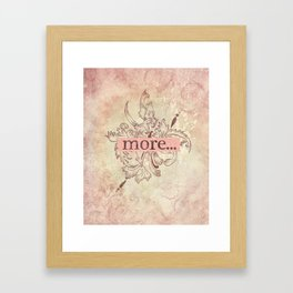 I love you more... every day - 02 (3piece set) Framed Art Print