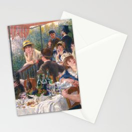 Luncheon of the Boating Party, 1880-1881 by Pierre-Auguste Renoir Stationery Cards