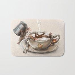 Pumpkin Spice Latte Bath Mat