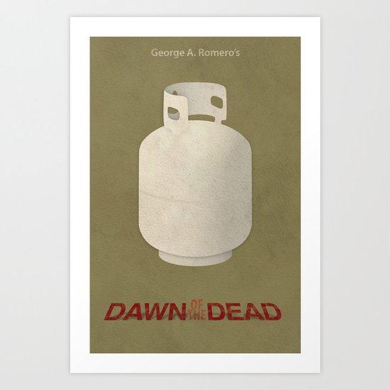 Dawn of the Dead Art Print