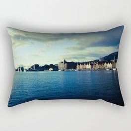 BERGEN CITY, NORWAY Rectangular Pillow