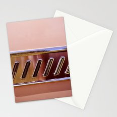 Pink Classic American Car Stationery Cards