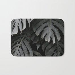 split leaf philodendron Bath Mat
