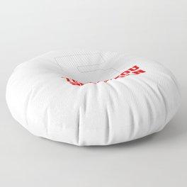 Thank you Seb Floor Pillow