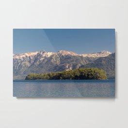 Island in the lake Metal Print