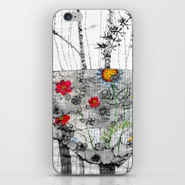 World is a cup of tea iPhone Skin