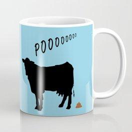 Cow's POO Coffee Mug