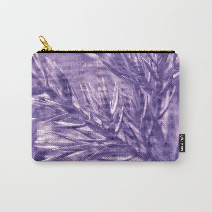 Ultra Violet Spruce Tree Pattern| Trendy color of year 2018 Carry-All Pouch