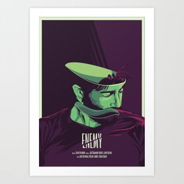 Enemy - Alternative movie poster Art Print