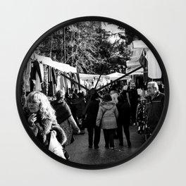 Street photography Wall Clock