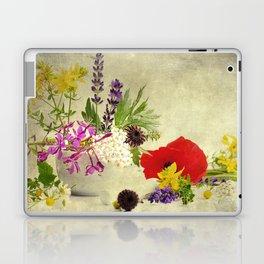 Garden weeds little helpers from nature Laptop & iPad Skin