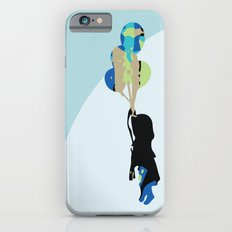 Little Girl With Balloons Slim Case iPhone 6s