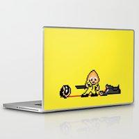 kill bill Laptop & iPad Skins featuring Kill Pixel Bill  by Eric A. Palmer