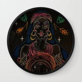 Black Magic Woman Wall Clock