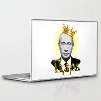 putin Laptop & iPad Skins featuring Vladimir Putin the Russian Czar by Exclusivity