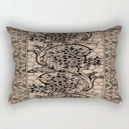 Vintage Lace Hazelnut Rectangular Pillow