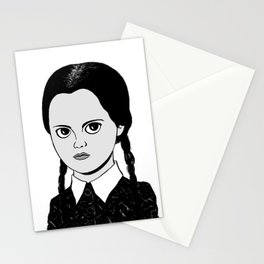 WEDNESDAY ADDAMS - THE ADDAMS FAMILY Stationery Cards