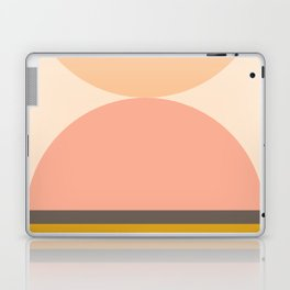 Abstraction_Mountains_Balance_ART_Landscape_Minimalism_001 Laptop & iPad Skin