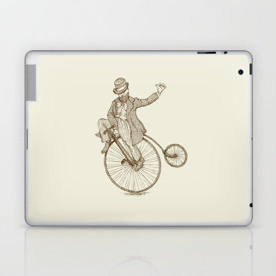 Flatland Penny Farthing Laptop & iPad Skin