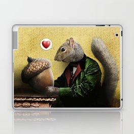 Mr. Squirrel Loves His Acorn! Laptop & iPad Skin