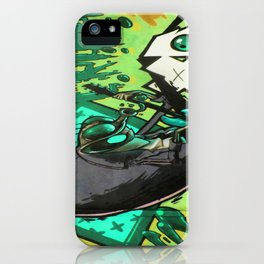 HUMAN FLY iPhone Case