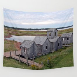 Playtown by the Pond Wall Tapestry