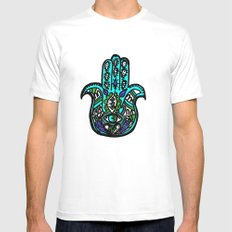 Third Eye MEDIUM Mens Fitted Tee White