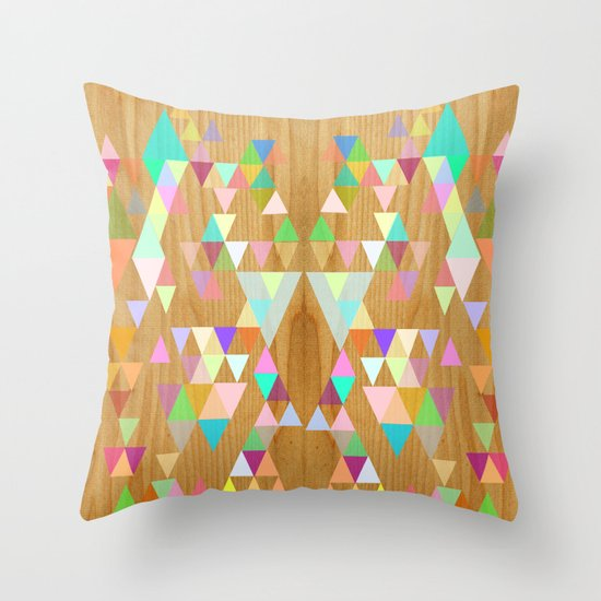 Things fall into place Throw Pillow