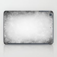 Black and White Cloud Texture iPad Case