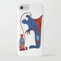 dolphin iPhone & iPod Cases featuring Dolphin by JBLITTLEMONSTERS