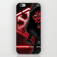 sith iPhone & iPod Skins featuring Darth Maul...Sith happens! by Emanpris Artcore