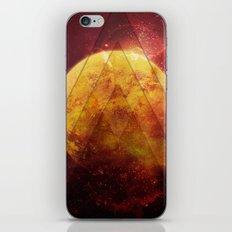 Retro Nebula iPhone & iPod Skin