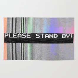 Please Stand By! Rug
