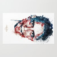 obama Area & Throw Rugs featuring Obama by I AM DIMITRI