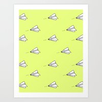 planes Art Prints featuring Planes by Darlene Boza