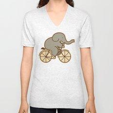 Elephant Cycle Unisex V-Neck