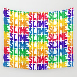 Rainbow SLIME Wall Tapestry
