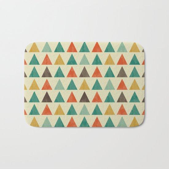 Lovely geometric Pattern VII Bath Mat