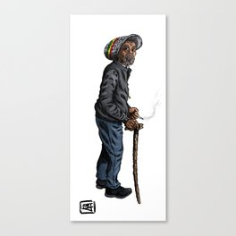Rasta General Canvas Print