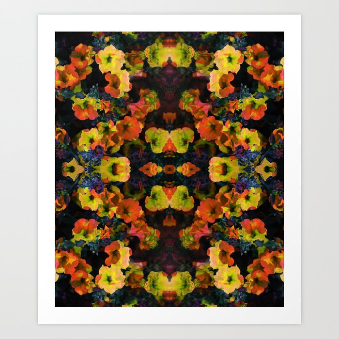 Future Floral II Art Print
