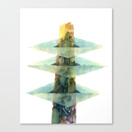 City #46: Raashebiza Canvas Print