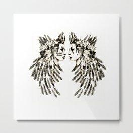 Warrior Princesses Metal Print
