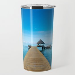 Tahiti Boat Dock Travel Mug
