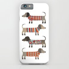 Sausage Dogs in Sweaters iPhone 6s Slim Case