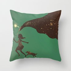 To Catch the Stars Throw Pillow