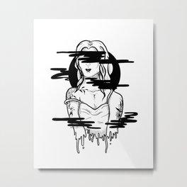 hazy vision Metal Print